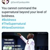 It Is Sorcery: Oyedepo Teaching Witchcraft