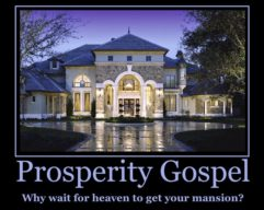 Prosperity Gospel Mansion