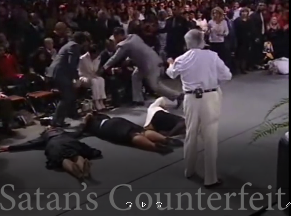 Healing And Hypnotism: Slain