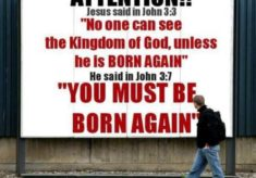 The Necessity Of Being Born Again