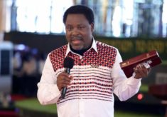 T.B.Joshua And Brian Cairns And The Newly Elected First Woman President Of America