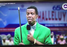 Enoch Adeboye Gazes At His Crystal Ball