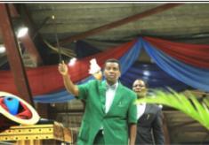 Pastor Enoch Adeboye Miracle Wooden Stick