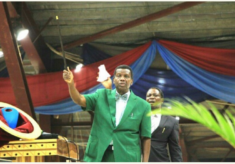 Pastor Enock Adeboye Reveals His Miracle Wooden Stick
