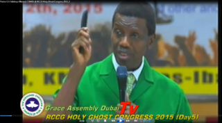 "This Time ""Pastor"" Adeboye Says It Is The Comb!"