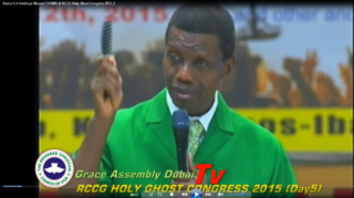 """Pastor"" Adeboye And His Comb god"