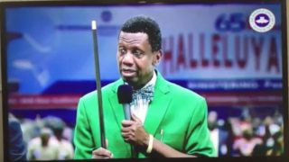 """Pastor"" Adeboye Reveals His Miracle Stick"